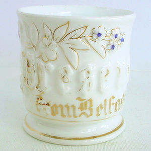 Antique Porcelain Cup Souvenir Belfast Ireland